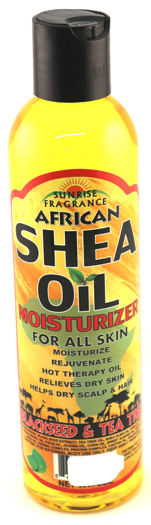 Shea Oil w/ Black Seed &Tea Tree