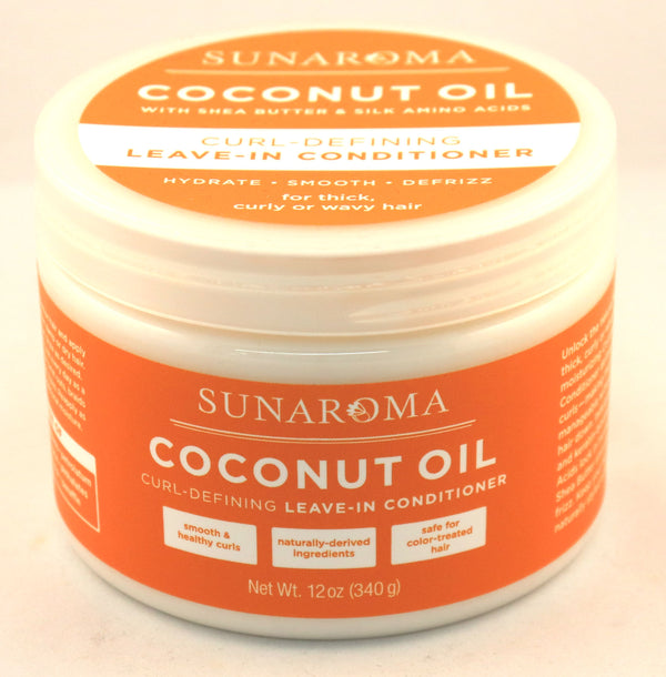 Coconut Oil - Leave-in Conditioner (Curl Defining)