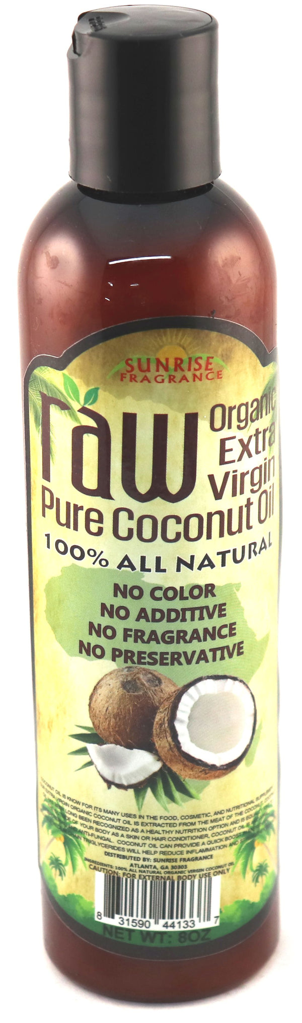 Raw Coconut Oil 1