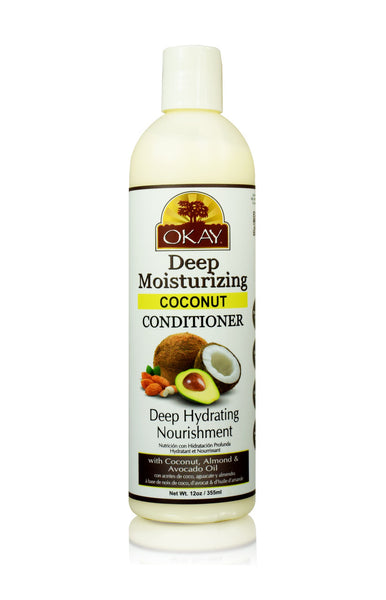 OKAY Deep Moisturizing Coconut Conditioner 12 oz