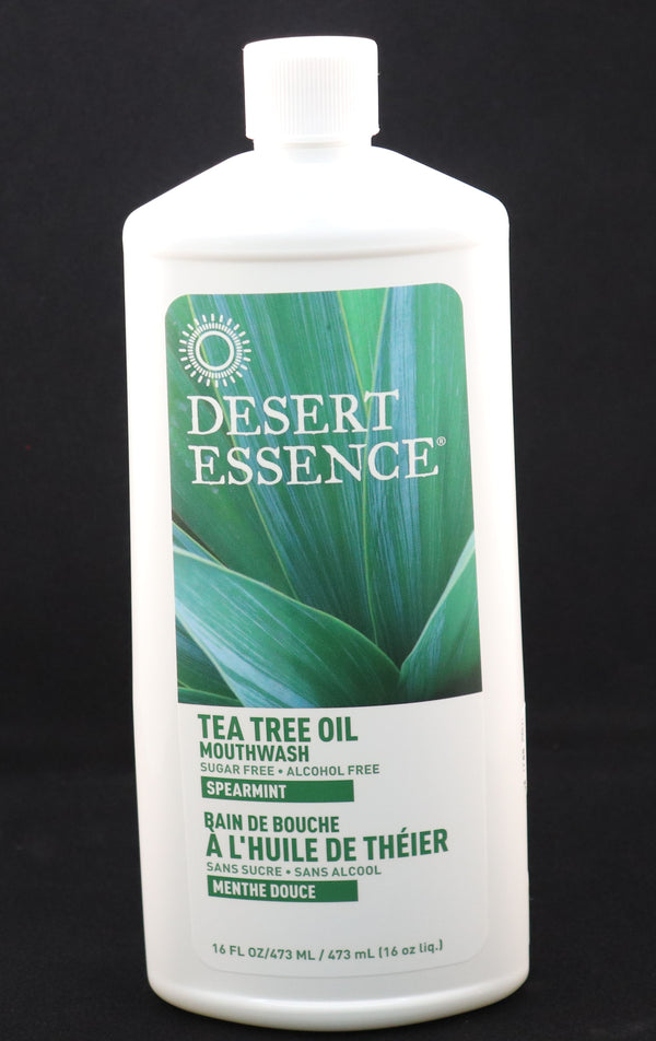 Desert Essence - Tea Tree Mouthwash - Spearmint