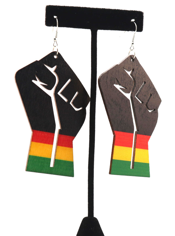 BLM Fist Earrings