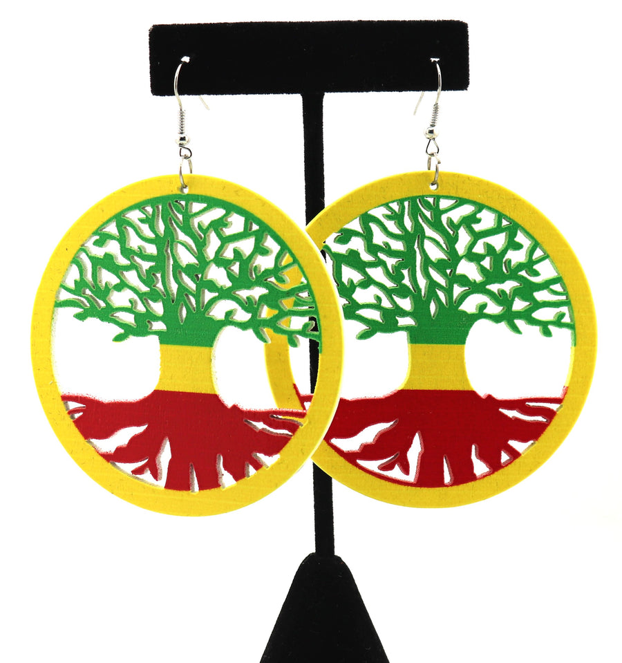 Roots of the African Tree 1 Earrings
