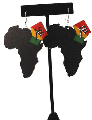 Africa Black Power Earrings