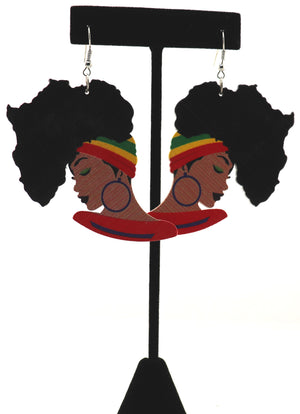 Africa On My Mind Earrings