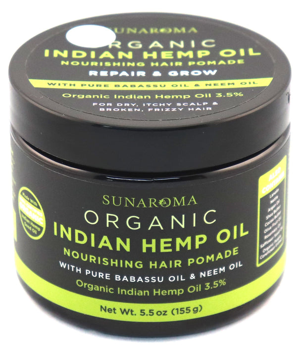 Indian Hemp Oil - Hair Pomade
