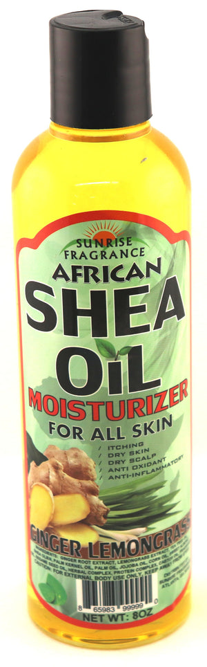 Shea Oil w/ Ginger & Lemongrass