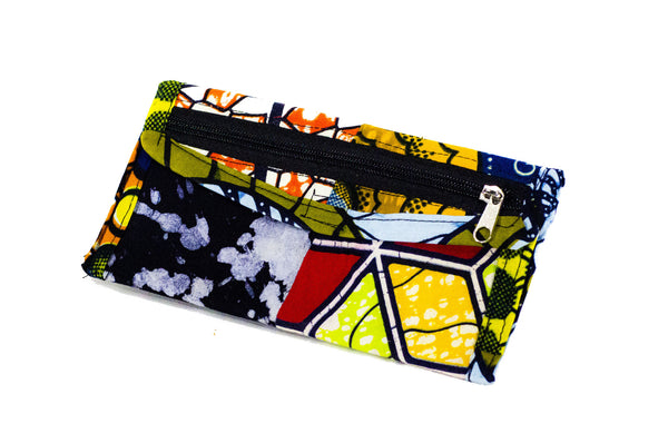 Patchwork African Print Make-Up Bag 4