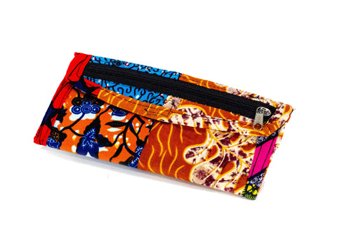 Patchwork African Print Make-Up Bag 5
