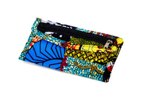 Patchwork African Print Make-Up Bag 6