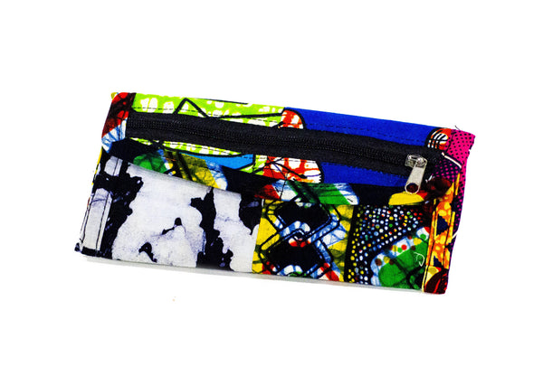 Patchwork African Print Make-Up Bag 7