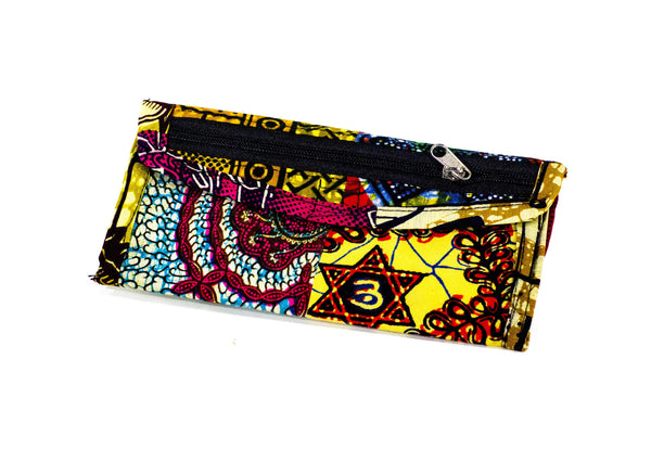 Patchwork African Print Make-Up Bag 8