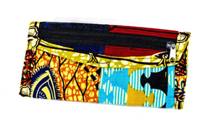 Patchwork African Print Make-Up Bag 10