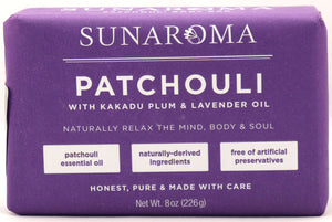 Patchouli Soap - Sunaroma