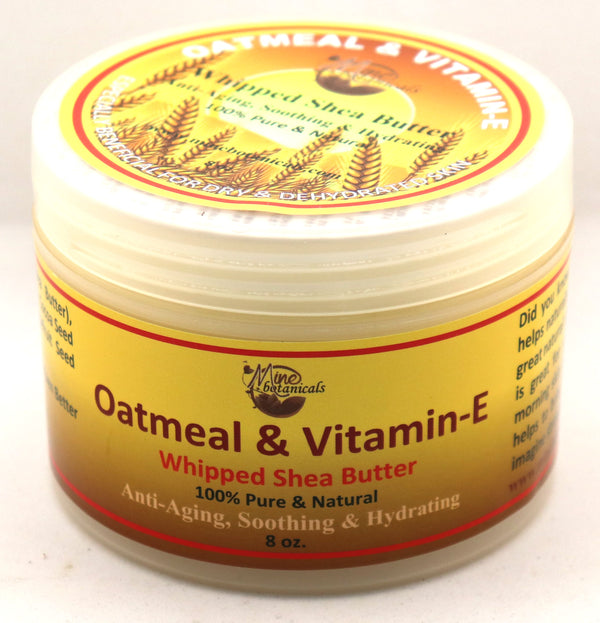 Oatmeal & Vitamin E - Whipped Shea Butter