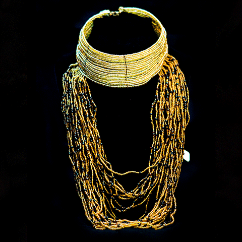 Royal Trend Maasai Choker Necklace