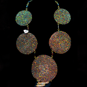 Round in Circle Maasai Necklace