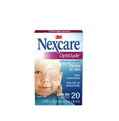 3M 1537 Nexcare Opticlude Orthoptic Eye Patches