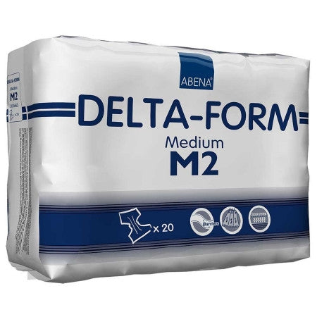 ABENA 308862 Delta-Form Medium Disposable Brief (CS)