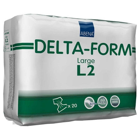 ABENA 308863 Delta-Form Large Disposable Brief (CS)