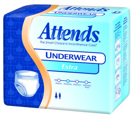 ATTENDS AP0720 Extra Absorbency Protective Underwear Medium (PK)
