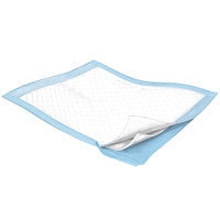 "COVIDIEN 1038 KENDALL HEALTHCARE Wings Fluff Underpad, 23"" x 24"", Moderate Absorbency (CS)"