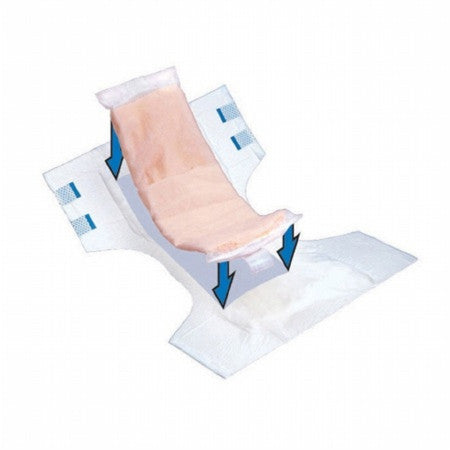 PBE 2060 TopLiner Incontinence Booster Pad Moderate Absorbency Unisex (CS)
