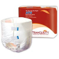 PBE 2187 Tranquility ATN (All-Through-the-Night) Disposable Brief X-Large (CS)