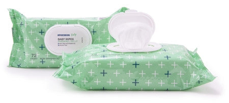 MCKESSON WPWBABY72U Baby Wipes with Aloe and Vitamin E - Unscented