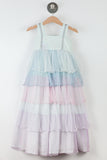 Duchess Dress: Rainbow Mist