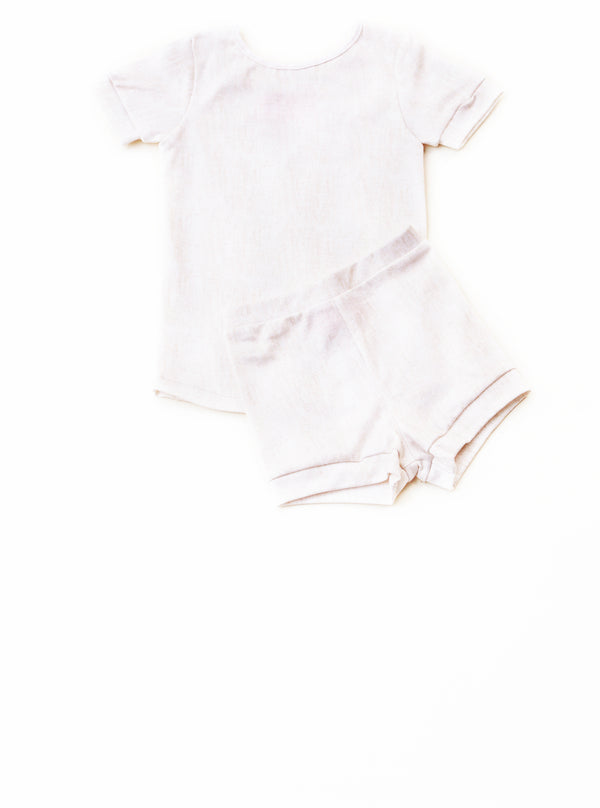 Simply Sleep: Honey Oatmeal Short Sleeve