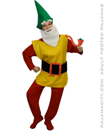 Homemade Adult Garden Gnome Costume  sc 1 st  Pajama City : homemade jester costume  - Germanpascual.Com