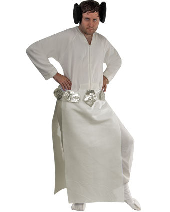 Diy Princess Leia Halloween Costume Idea Using Footed Pajamas