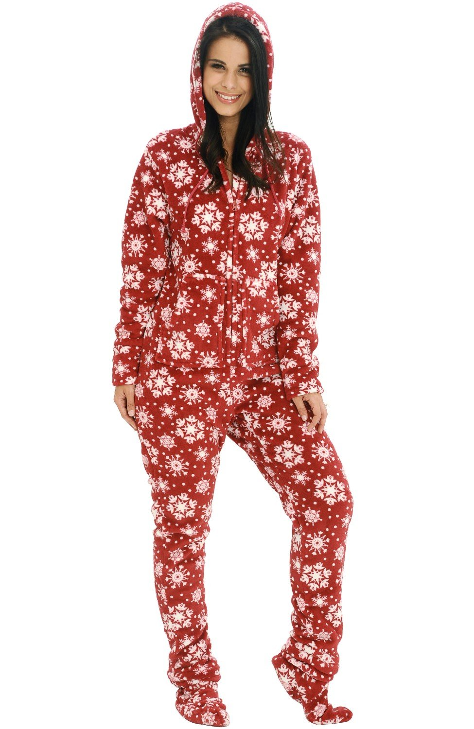 detachable pajamas with Adult top foot