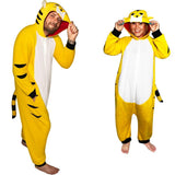 Kigurumi Tiger Costume Pajama with Hood