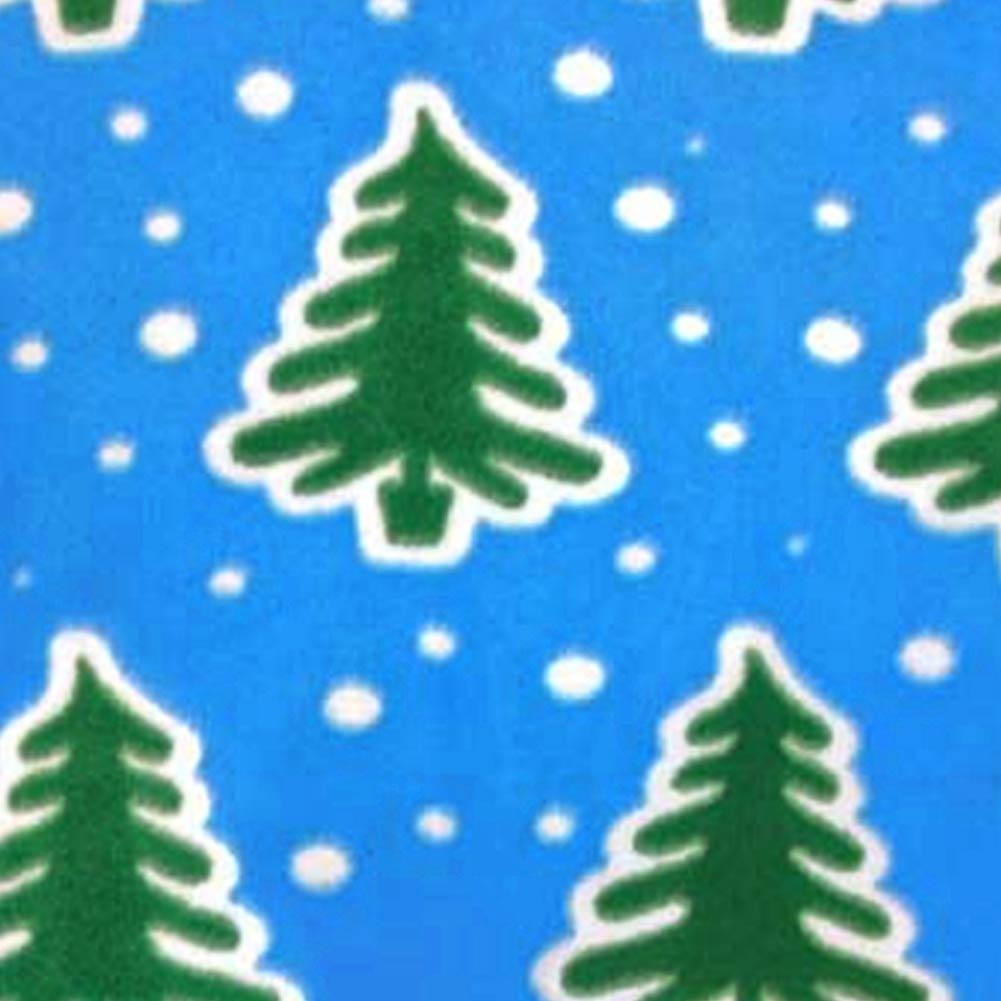 3009f8f92d Christmas Trees and Snow Adult Footed Pajamas with Drop Seat – PJC ...