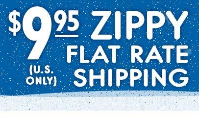 $9.95 zippy flat rate shipping (U.S. only)
