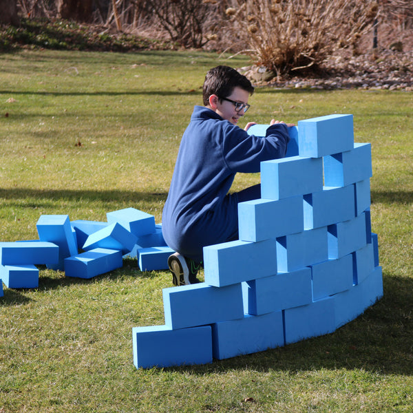 Blue Brick Blocks