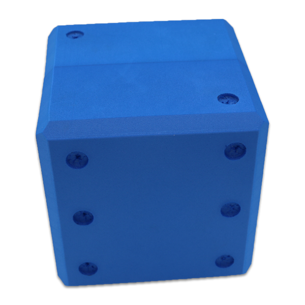 Jumbo Big Blue Playing Dice (Set of 6)