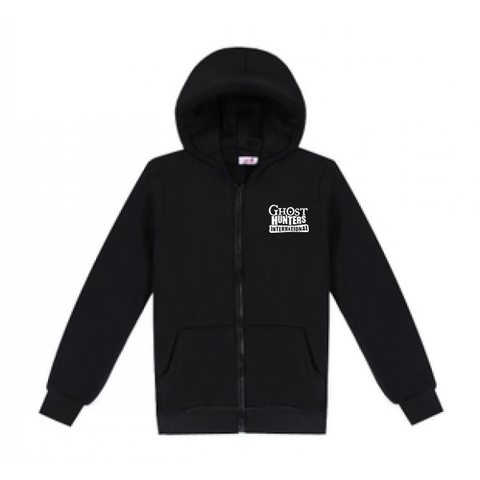 Ghost Hunters International Embroidered Logo Zippered Hooded Jacket