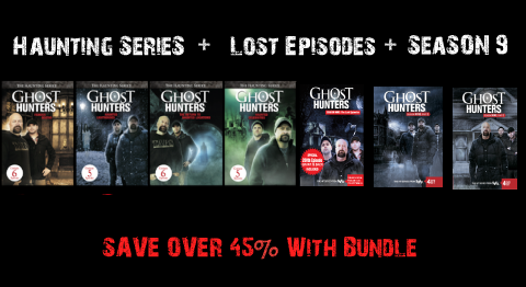 "BUNDLE | Haunting Series DVD + Season 9 Part 1+ Part 2 + Part 3 ""The Lost Episodes"""
