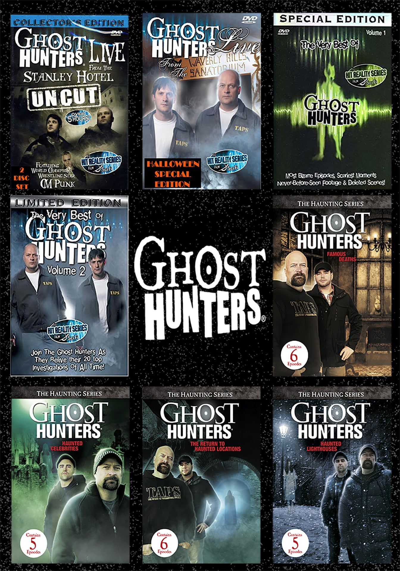 BUNDLE | Ghost Hunters Spine-Tingling Bundle