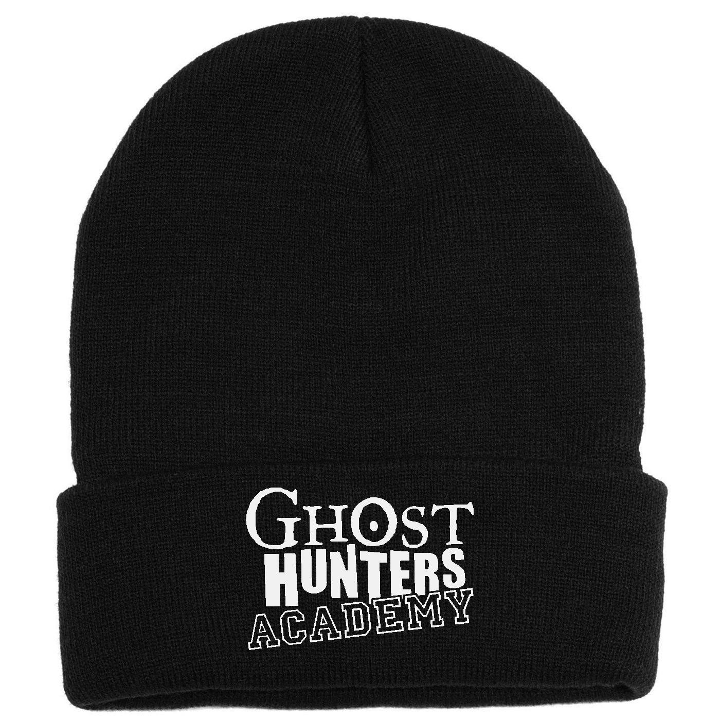 Ghost Hunters Academy Embroidered Knit Beanie