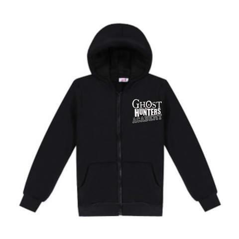 Ghost Hunters Academy Embroidered Zippered Hooded Jacket