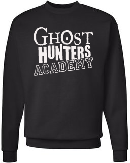 Ghost Hunters Academy Fleece Pullover Sweatshirt