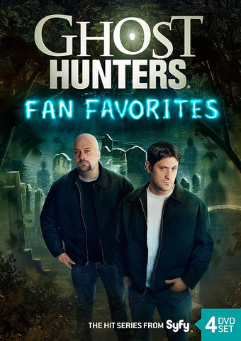 Ghost Hunters Fan Favorites Collector's DVD Set