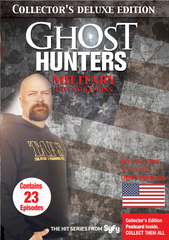 Military Ghost Hunters Investigations Collector's Deluxe Edition DVD Set