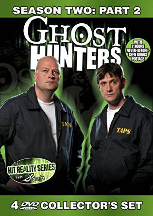 Ghost Hunters Season 2 Part 2 Collector's DVD Set