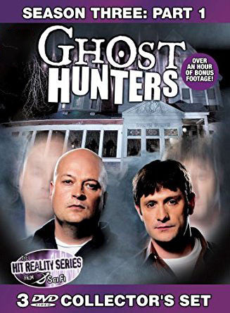 Ghost hunters Season 3 Part 1 Collector's DVD Set