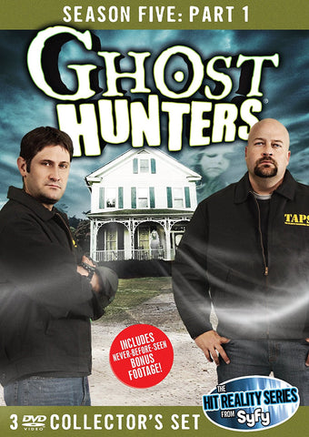 Ghost Hunters Season 5 Part 1 Collector's DVD Set
